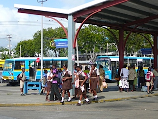 Barbados Bus station
