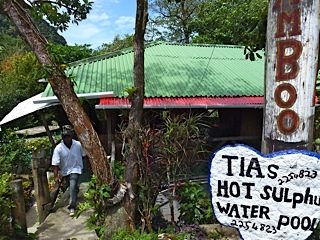 Dominica Tia's sulfur spa's