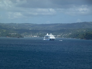 Samana from the ship